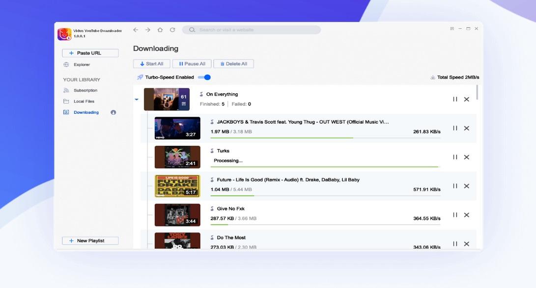 Vidus YouTube Downloader